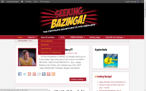 Seeking Bazinga: After