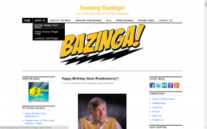 Seeking Bazinga: Before